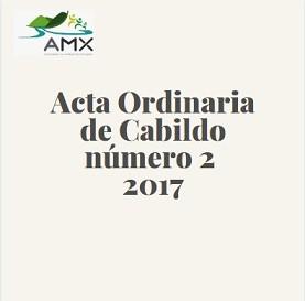 Acta Ordinaria 2 2017