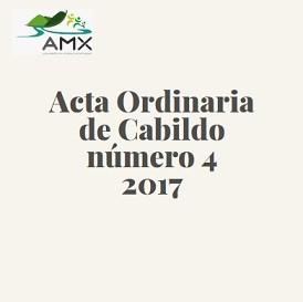 Acta Ordinaria 4 2017