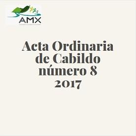 Acta Ordinaria 8 2017