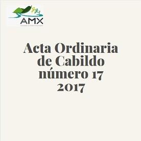 Acta Ordinaria 17 2017