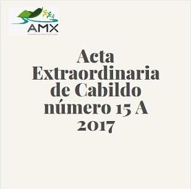 Extraordinaria 15 A 2017