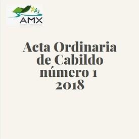 Ordinaria 1 2018
