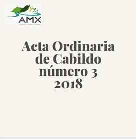 Ordinaria 3 2018