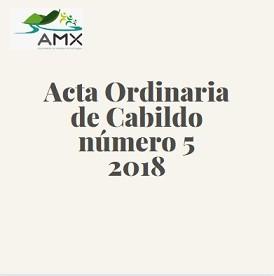 Ordinaria 5 2018