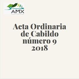 Ordinaria 9 2018