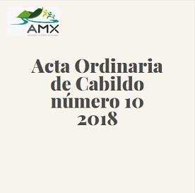 Ordinaria 10 2018