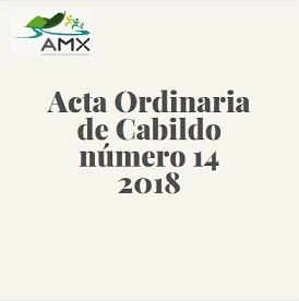 Ordinaria 14 2018