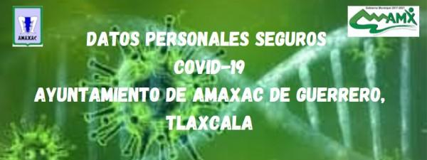 Datos Personales Seguros Covid-19